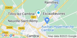 Plan Carte Groupe Thermie France à Cambrai