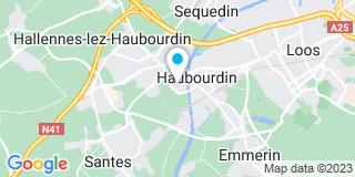 Plan Carte Preiss Entreprise à Haubourdin