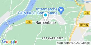 Plan Carte Delta Fenêtres à Barbentane