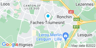 Plan Carte Bowindo à Faches Thumesnil