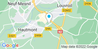 Plan Carte Fermetures J Aucquiert à Haumont
