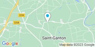 Plan Carte Bodiguel-Gauvin à Saint-Ganton