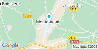 Plan Carte M.P.F Michel David à Montarnaud