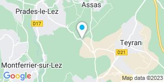 Plan Carte Jpb Menuiserie à St Vincent De Barbeyrargue