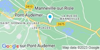 Plan Carte Mongrenier à Pont-Audemer