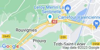 Plan Carte Hainaut Menuiserie à Trith-Saint-Léger