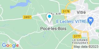Plan Carte Martin Loic Menuiserie à Pocé-les-Bois