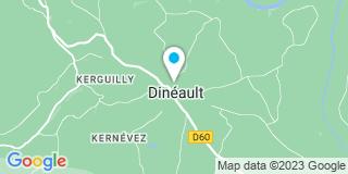 Plan Carte Menuiserie Charpente le Stum à Dineault