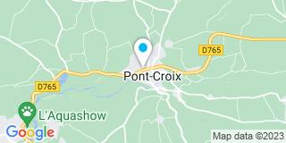 Plan Carte Le Pape Le Corre à Pont Croix