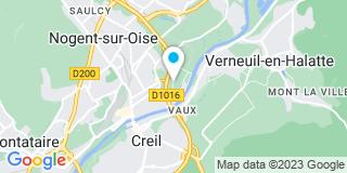 Plan Carte Artisal à Nogent sur Oise