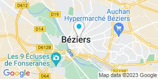 Plan Carte Milhes Entreprise à Thèzan-lès-Bézier