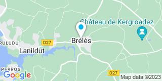 Plan Carte Menuiserie Le Gall à Brélès