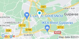 Plan Carte Ateliers Dlb à Gouesnou