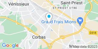 Plan Carte Jem (Menuiserie) à Corbas