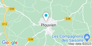 Plan Carte Jy Morvan à Plouvien