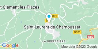 Plan Carte Batibois à Saint-Laurent-de-Chamousset