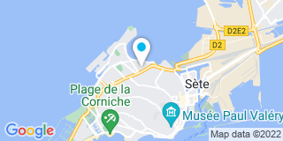 Plan Carte Stores Robert à Sète