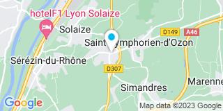Plan Carte Génération Confort de l'Habitat à Saint-Symphorien-d'Ozon