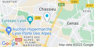 Plan Carte Lardet (Miroiterie) à Chassieu