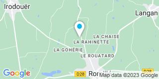 Plan Carte Delourmel Rémy à Romillé