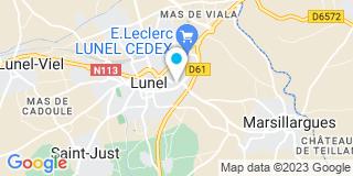 Plan Carte Menui Pose 34 à Lunel