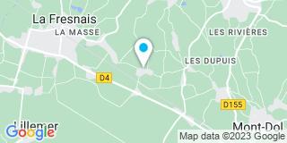 Plan Carte Juhel à La Fresnais
