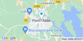 Plan Carte Lennon Le Berre Joncour à Pont-L'Abbé