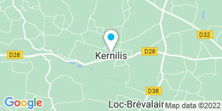 Plan Carte Axel Fermetures à Ploudaniel