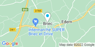 Plan Carte Guichard à Briec