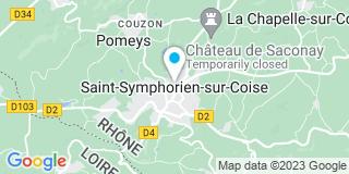 Plan Carte Villard Guy Menuiserie à Saint-Symphorien-sur-Coise