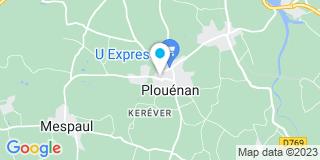 Plan Carte 2 Pl à Plouenan