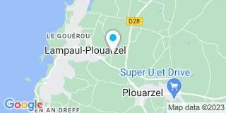 Plan Carte Bellec François à Lampaul-Pouarzel