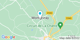 Plan Carte Tectra Bois à Montgivray