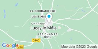 Plan Carte Despres Menuiserie à Luçay-le-Mâle