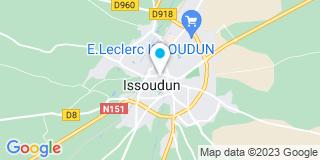 Plan Carte Abp Centre Menuiserie à Issoudun