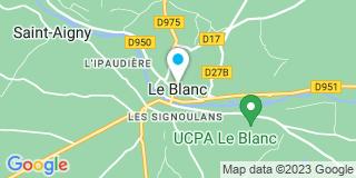 Plan Carte Bhm à Le Blanc
