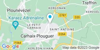 Plan Carte Logiprotec à Carhaix-Plouguer