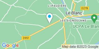 Plan Carte Isolation Service à Le Blanc