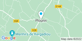 Plan Carte Lenaff à Plourin