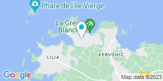 Plan Carte Arzur Menuiseries Bois à Plougureneau