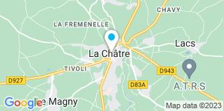 Plan Carte Charpente Et Menuiserie Leuillet Père Et Fils à La Châtre