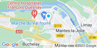 Plan Carte Installateur Menuiserie Extérieure (Imex) à Buchelay