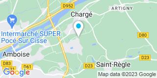 Plan Carte Villevaudet à Chargé