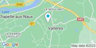 Plan Carte Atelier de l'Hirondelle à Vallères