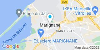 Plan Carte Alu Vigouroux à Marignane