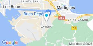 Plan Carte France Pose à Martigues