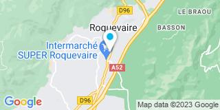 Plan Carte Etablissement Rogier à Roquevaire
