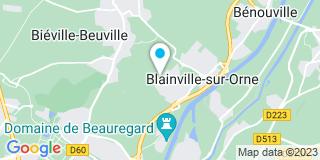 Plan Carte Jardin Et Fils à Blainville sur Orne