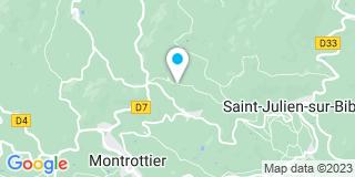 Plan Carte Mitton Pierre Olivier à Montrottier