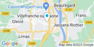 Plan Carte Pro-Pose à Villefranche-sur-Saône